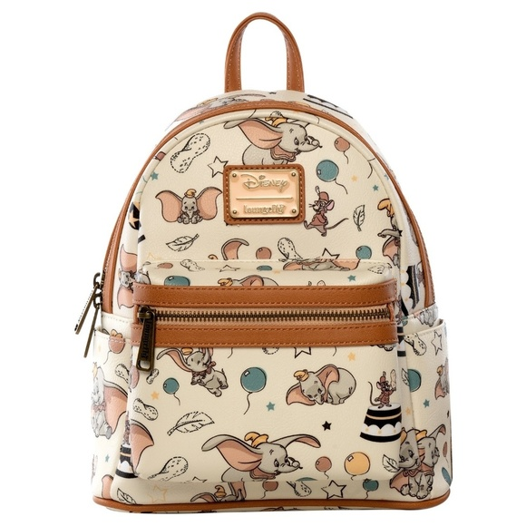 511707a99be Disney Loungefly Dumbo Backpack and Wallet